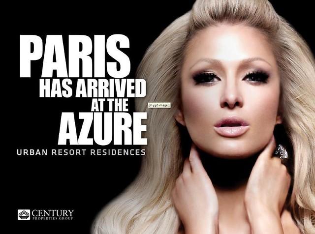 Paris Hilton Azure