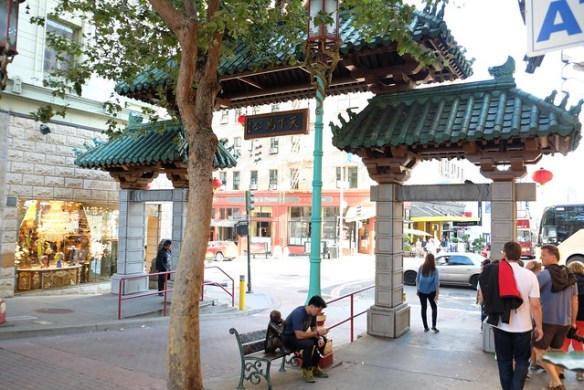 San Francisco Chinatown entrance