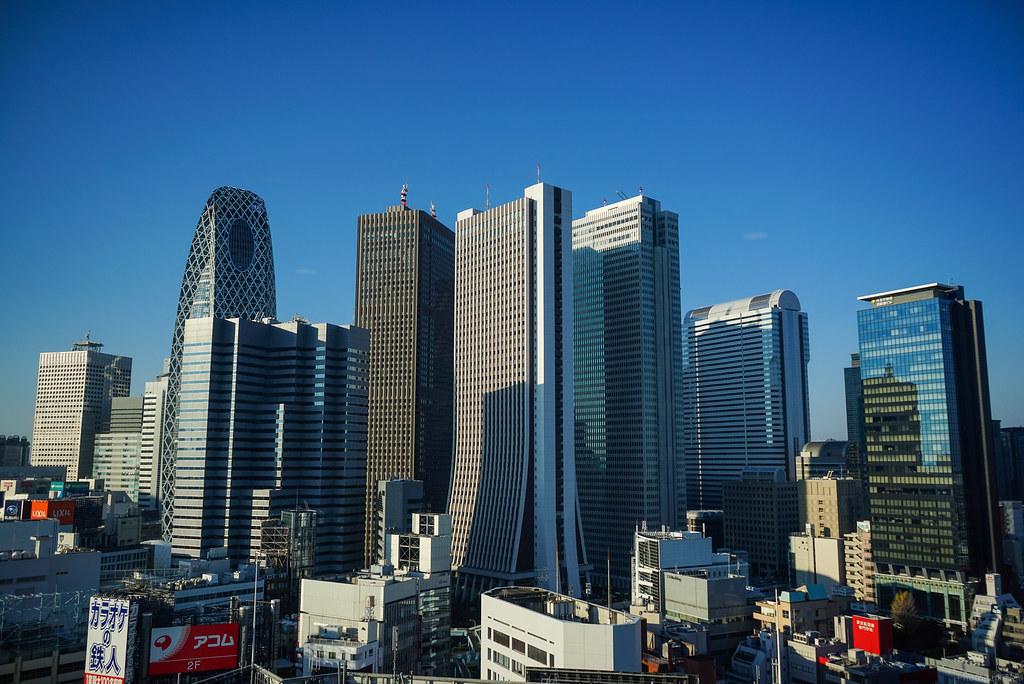 Skyscraper Wallpaper Hd Shinjuku