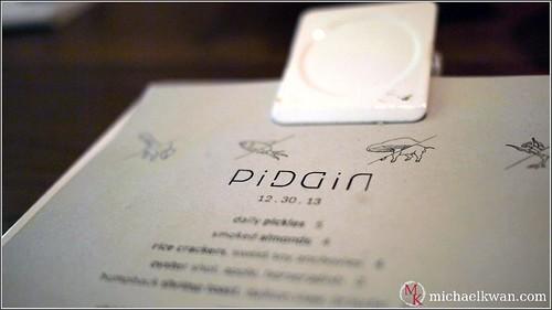 PiDGiN Restaurant, Vancouver