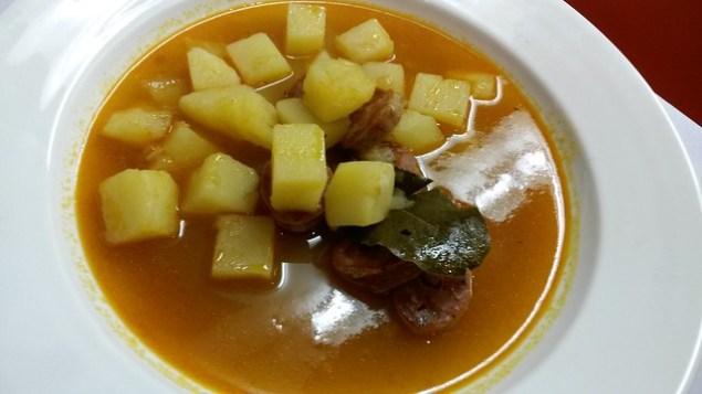 Potato & Chorizo Soup