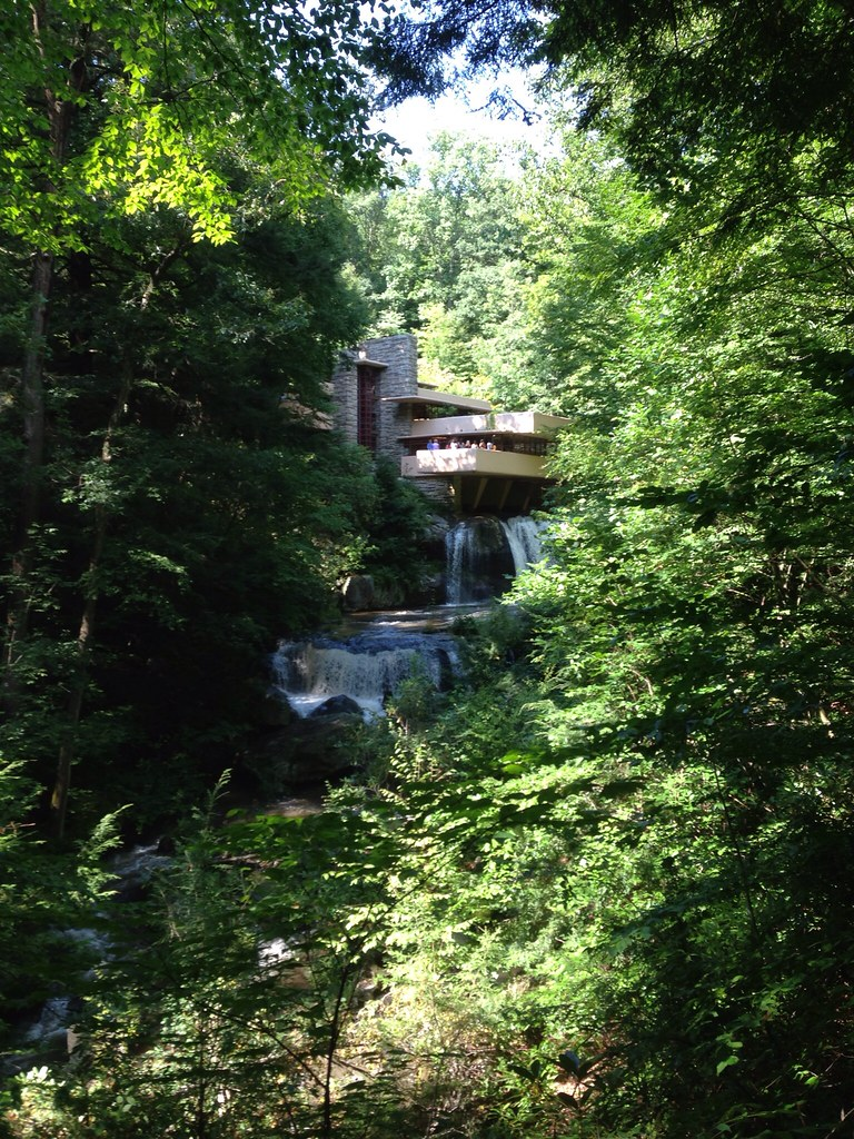 Falling Water House Usa Falling Water One Of The Landmark House Built 1929 By Fran Flickr