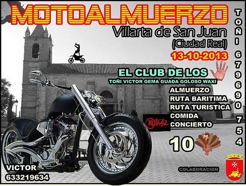 Motoalmuerzo Villarta de San Juan (Ciudad Real)
