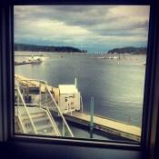 Reader K.K. | Lighthouse Pub | Nanaimo Harbour, BC | 4:58pm