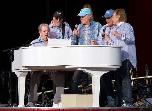 The Beach Boys photo courtesy Louise Palanker/ Wikimedia Commons