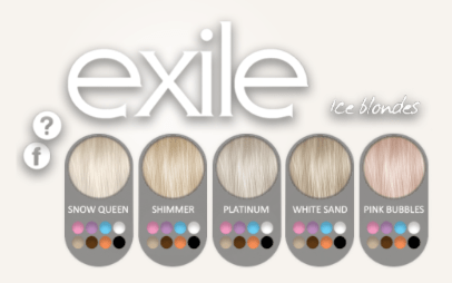 Exile hair colors