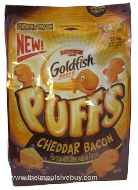 Pepperidge Farm Goldfish Puffs Cheddar Bacon