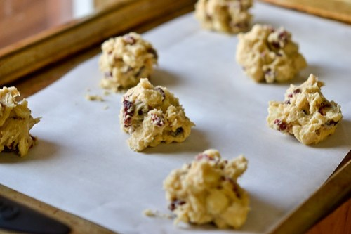 White Chocolate Cranberry Cookies-4