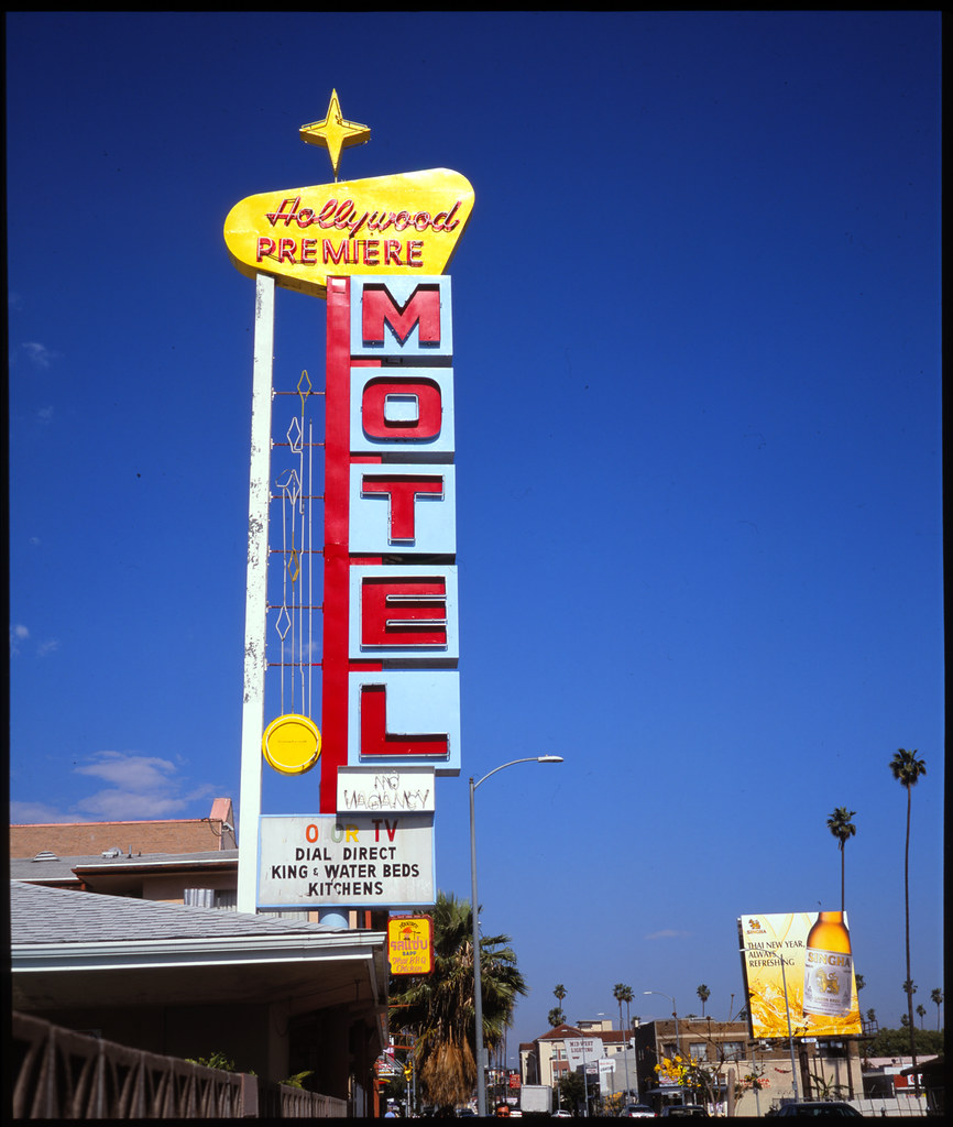 Hollywood Motel Hollywood Premiere Motel Now In Color Fuji Gw670iii Sho Flickr