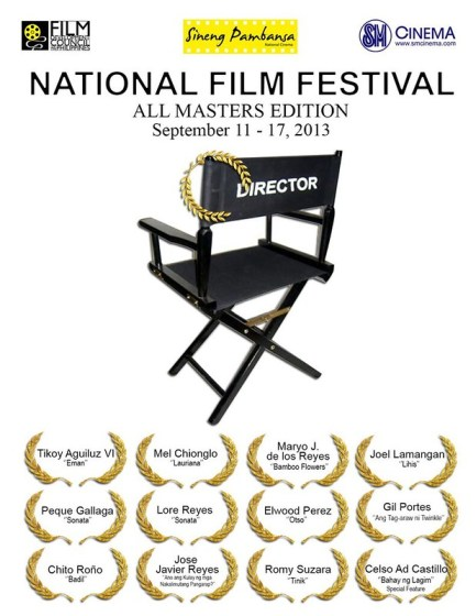 national film festival, all masters edition