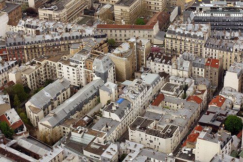 view from ciel de paris