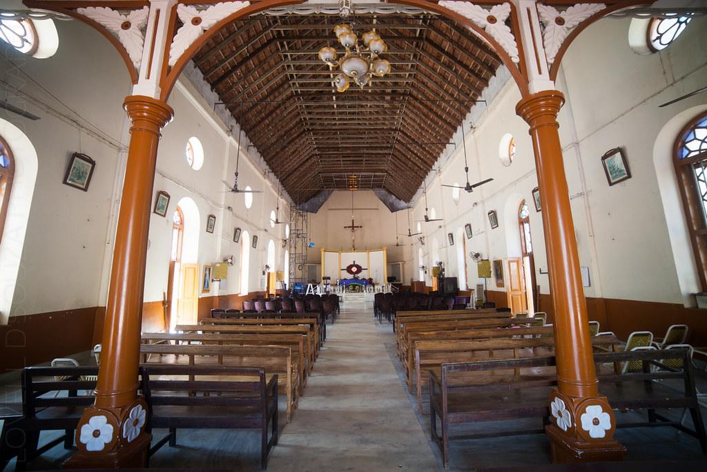 Inside the St Peter's & St Paul's Church, Fort Kochi
