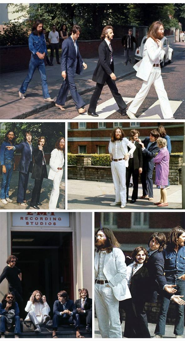 La sesión fotográfica del álbum de The Beatles Abbey Road duró sólo 10 minutos.