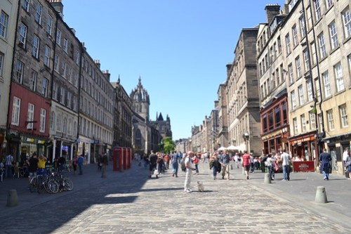 Royal Mile, Edinburgh (1)