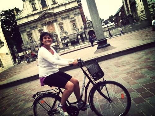 Cracovia en bici