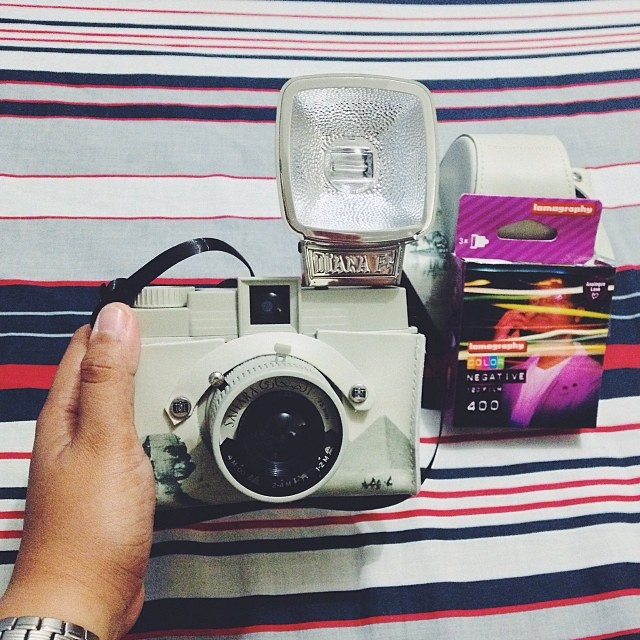 The famous Diana camera.