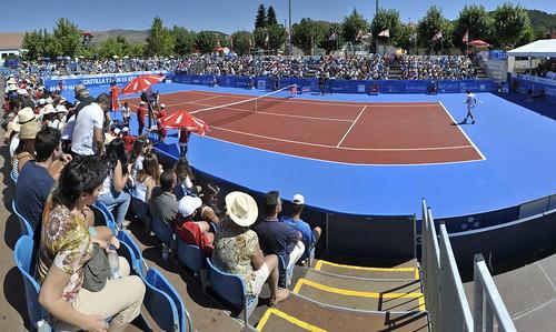 Las pistas de La Estación volverán a llenarse de público y buen tenis un año más. Foto Pedro Merino