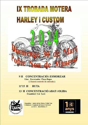 IX Trobada Motera Harley i Custom - Manresa