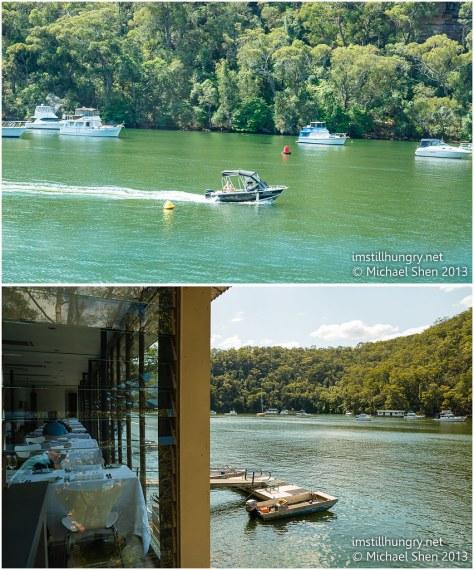 Berowra waters inn views