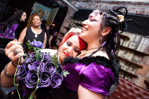 POSTCEREMONY10 - Lady Zombie & Ali Fangsmith Wedding