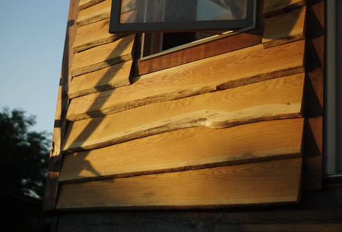 Live Edge Oak Wood Siding