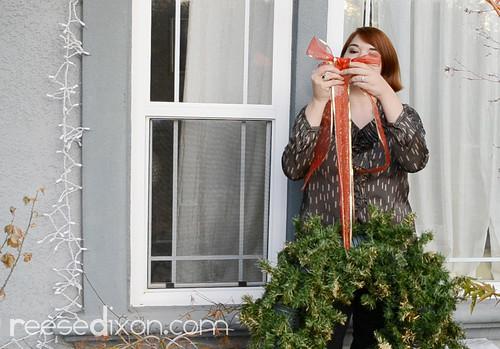 Outdoor Wreath Tutorial Step 4