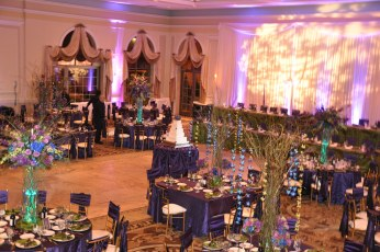 Custom Vinyl Floor by M & P Floral and Event Production
