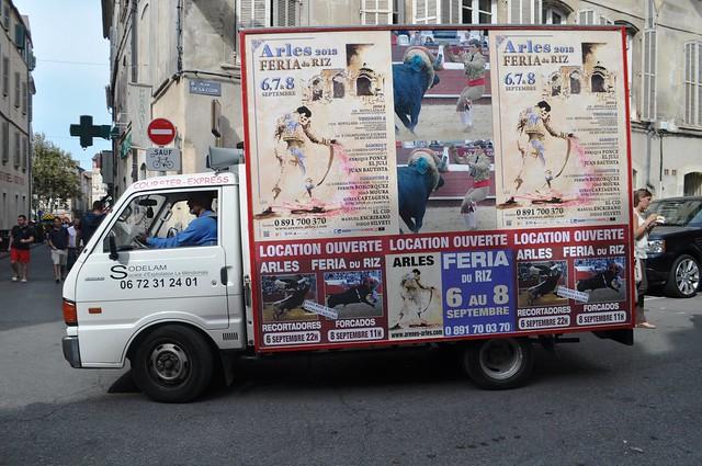 Feria de Riz Ad, Arles, France, Sept. 2013
