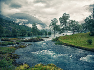 Norway: fjords, lakes and clouds #01