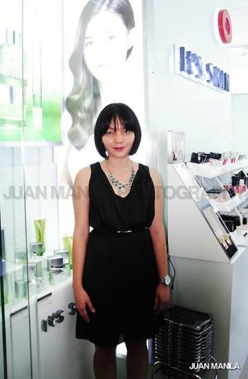 Jenny Jabeguero of It's Skin Philippines.
