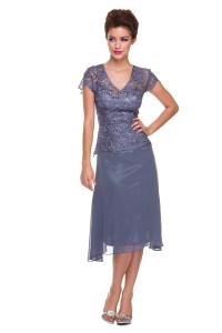 Gorgeous Plus Size Mother of the Bride Groom Short Modest ...
