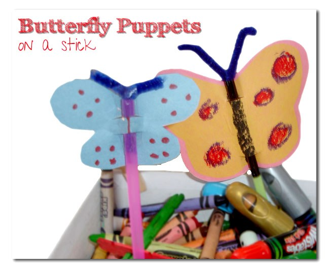 Butterfly Puppets