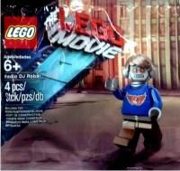 The LEGO Movie Radio DJ Robot Minifigure Polybag Found