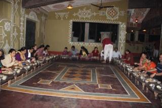 dinner at chokhi dhani pune