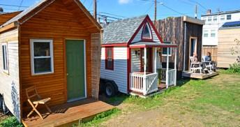 Boneyard Studios Tiny House Village