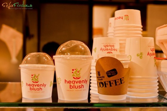 heavenly blush paper cup