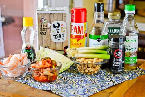 Cucumber & Kimchi Noodle Salad-1
