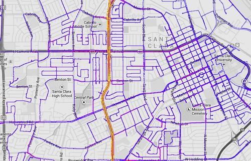 Ride Every Road Santa Clara status August 4 2014