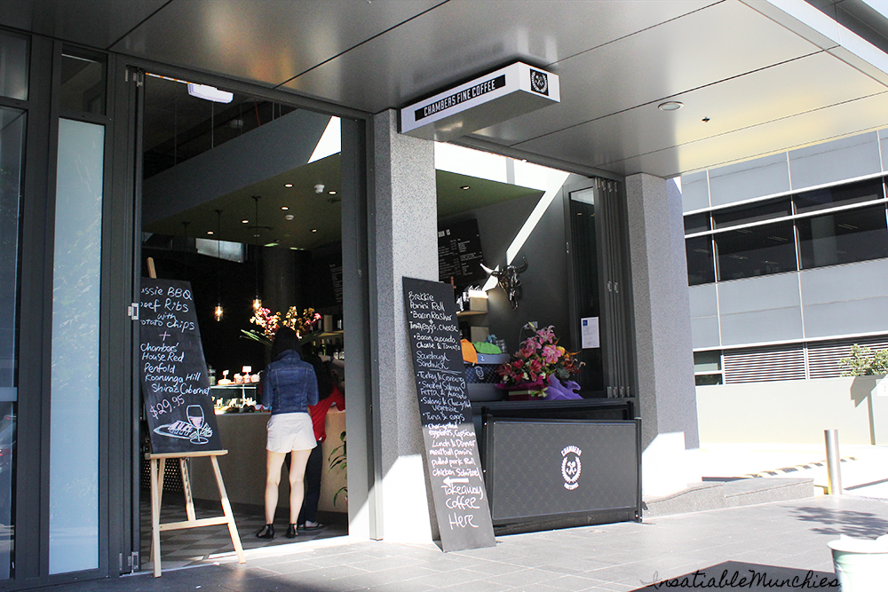 The exterior of the eatery
