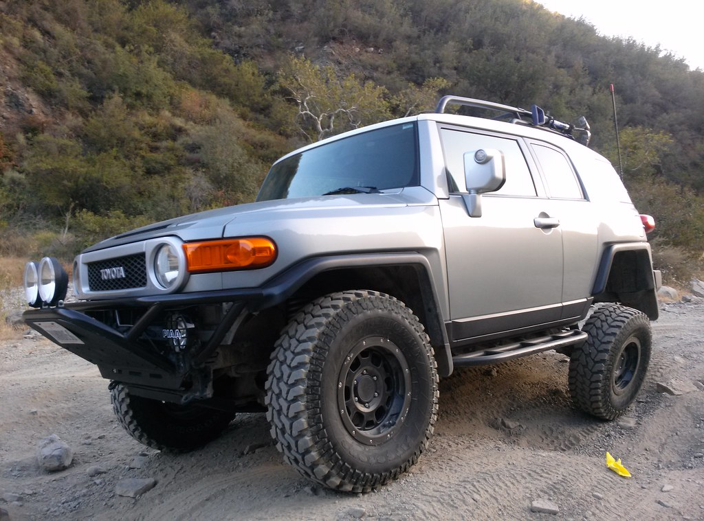 Fj Cruiser Wide Tires Wwwpicsbudcom