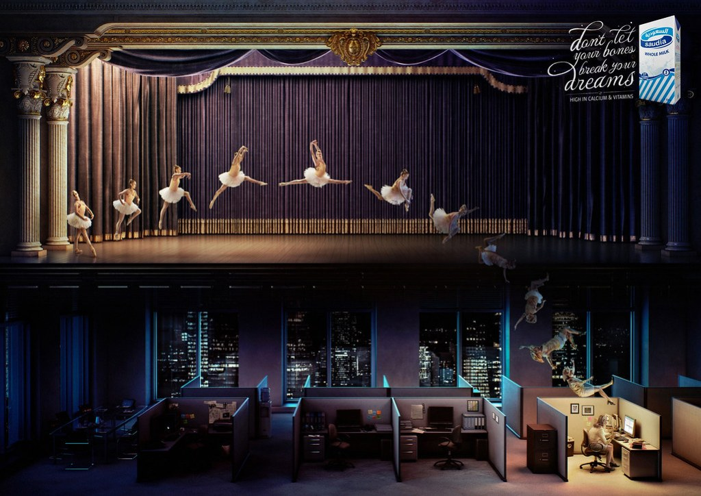 Saudia milk - Ballet