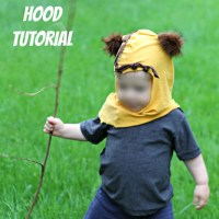 DIY Ewok Hood Tutorial - CraftingCon Blog Tour