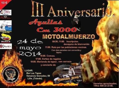 III Aniversario Aguilas Cm 300 - Lillo