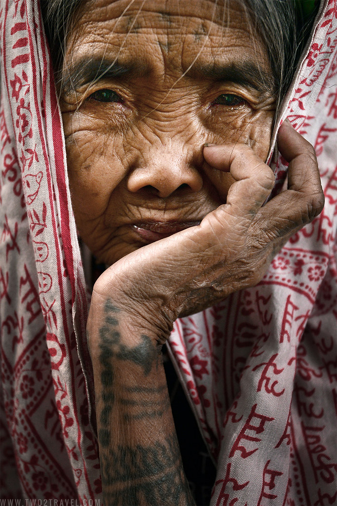 TWO2TRAVEL | Portrait of Whang-Od, mambabatok of Buscalan, Kalinga, Philippines