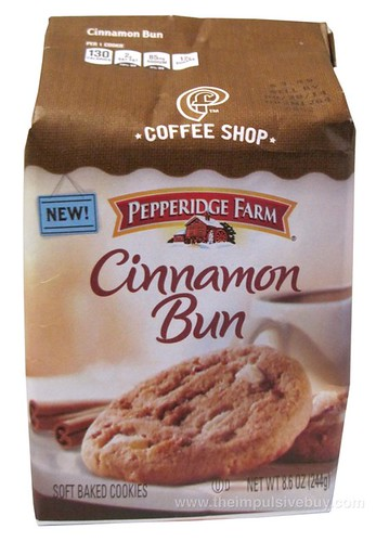 Pepperidge Farm Coffee Shop Cinnamon Bun Cookies