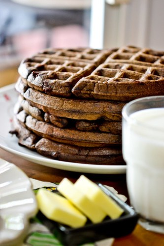 Dark Chocolate Waffles-20
