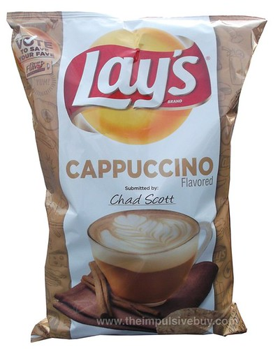 Lay's Do Us a Flavor Finalist Cappuccino Potato Chips