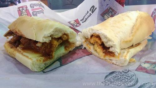 KFC Chicken Marinara Filler Sub 2