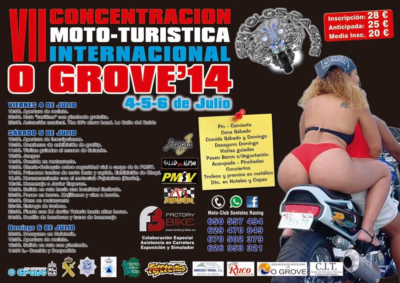 VII Concentración Moto-turística internaciona O Grove
