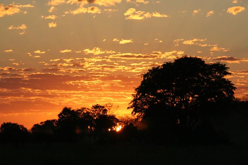 Sunrise in Luwonde